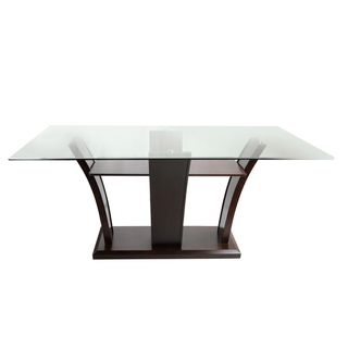 Marion Rectangular Glass Top Dining Table