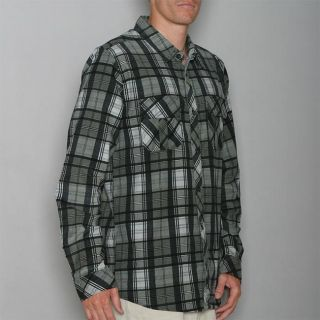 Neill Mens Black/ White Plaid Shirt