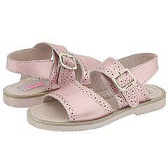 Cherie Kids 673 (Toddler) Pink Leather Sandals