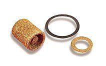 Holley 162 500 Brass Carburetor Fuel Inlet Filter   Pack of 2