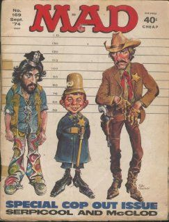 Mad Magazine Vol.1 #169: ALFRED E. NEUMAN: Books