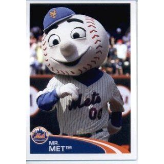 Topps Baseball MLB Sticker #183 Mr. Met New York Mets Collectibles