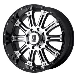 XD Series Hoss XD795 Gloss Black Machined Wheel (17x9/8x170mm