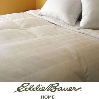 Eddie Bauer 550 Fill Power White Goose Down Comforter