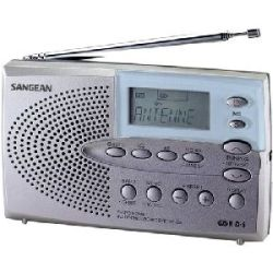 Sangean DT 220V AM/FM/TV Pocket Radio
