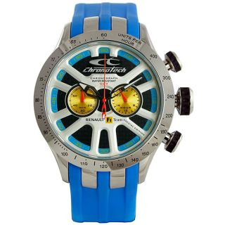Chronotech Mens Blue Renault F1 Celebration Special Edition Watch