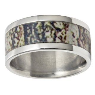 camo wedding rings: Jewelry