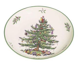 Spode Christmas Tree 9 inch Pasta Bowl