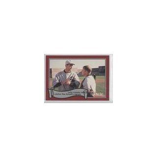 Lefty Crosses Up/Catcher Ray Schalk Claude Williams (Baseball Card