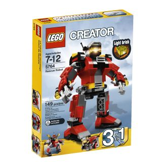LEGO Rescue Robot Toy Set