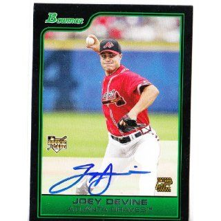2006 Bowman 222 Joey Devine AU RC (Baseball Cards) Atlanta