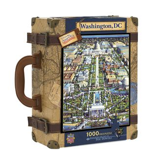 Explore America Washington, DC Suitcase Puzzle 1000 Pcs