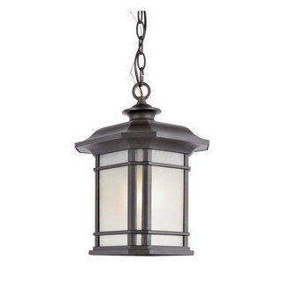Trans Globe PL 5825 BK Corner Window   One Light Outdoor