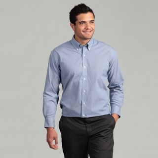 Nautica Mens Non iron Royal Blue Dress Shirt
