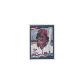 Mark Salas Minnesota Twins (Baseball Card) 1986 Donruss