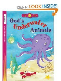 Gods Underwater Animals (Happy Day Coloring Books Seasonal