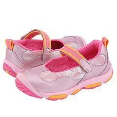 Stride Rite Milena MJ Stage 3 (Infant/Toddler) Light Pink Leather