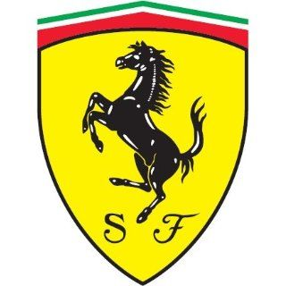 Ferrari sticker vinyl decal 5 x 3.7 Everything Else