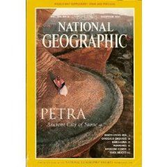 National Geographic Petra Ancient City of Stone (December 1998, Vol