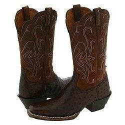 Ariat Legend Full Quill Ostrich Tabac/Brown Rowdy