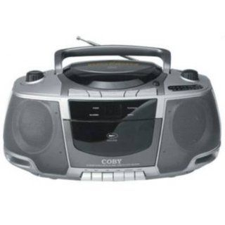CX CD248 Portable CD / Radio / Stereo Cassette Player/Recorder by COBY