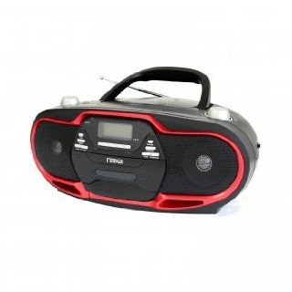Naxa NPB 257 Portable MP3/CD Player, AM/FM Stereo Radio