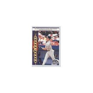 Rockies BB (Baseball Card) 1998 Pacific Online #258 Collectibles