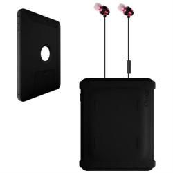 Otterbox Defender iPad 2 Black Protector Case with Delton Pink Stereo