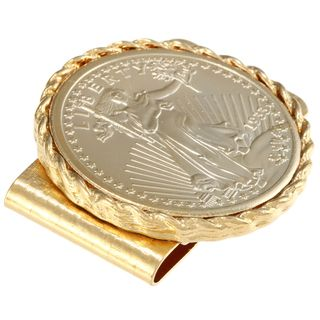American Coin Treasures $20 St. Gaudens Gold Piece Replica Gold Tone