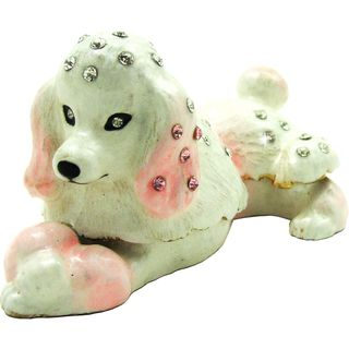 Objet dart The Toy Poodle Dog Trinket Box