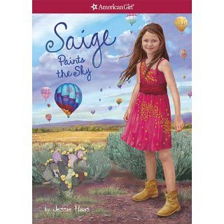Saige Paints the Sky (American Girl Today) Jessie Haas, Sarah Davis