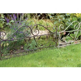 Laura Ashley Chestnut Feature Edging 3 Garden Accent