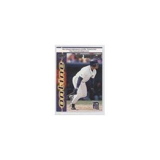 Leon Roberts, Detroit Tigers (Baseball Card) 1998 Pacific Online #283