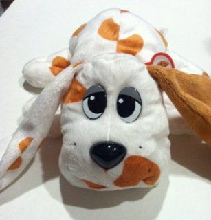 Pound Puppies 13 inch Plush White/Tan Spots New Toys