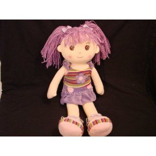 Lollipop Kidz 20Soft Bodied Rag Doll Flower Purple