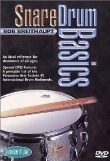 Snare Drum Basics DVD Bob Breithaupt, Rob Wallis Movies