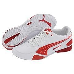 Puma Motorazzo Ducati White/High Risk Red