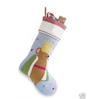 Pottery Barn Kids Quilted Mouse King Christmas Stocking