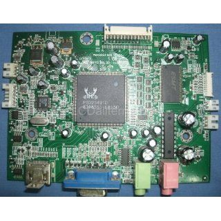 Repair Kit, Hanns G HG281D Rev2 Main Board, LCD Monitor, Capacitors