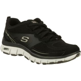 Womens Skechers Tone Ups Fitness Flex Black/White Today $69.95