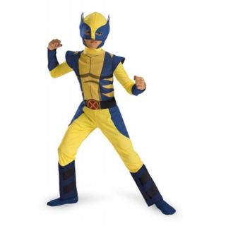 Disguise Wolverine Animated Classic Child Costume