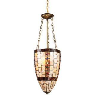 Hastings Antique Brass 3 light Pendant