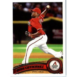 2011 Topps #291 Juan Gutierrez   Arizona Diamondbacks (Baseball Cards)