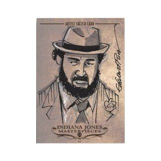 Indiana Jones Masterpieces Edward Pun Sketch Card