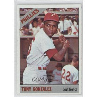 Tony Gonzalez Philadelphia Phillies (Baseball Card) 1966