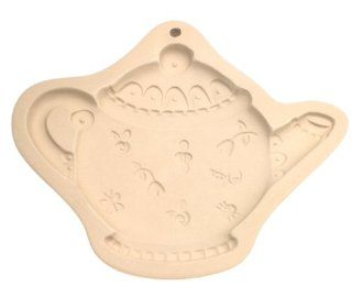 Hill Design Ceramic Teapot Cookie & Craft Mold Kitchen