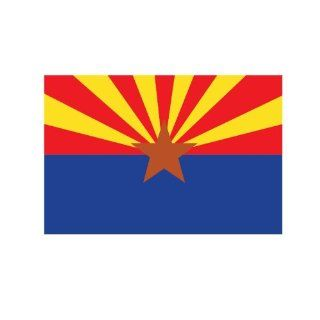 Arizona state flag Sticker Vinyl Decal 5 wide Everything