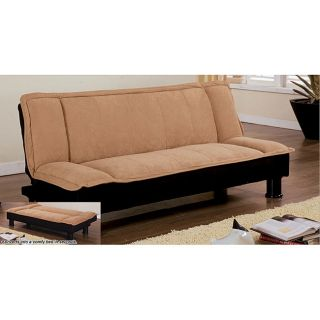 Microsuede Sofa Bed