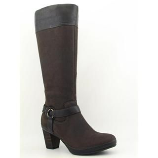 Clarks Artisan Womens Gallery Etch Nubuck Boots Wide