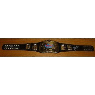 Scott & Rick Steiner Brothers Signed WWE WWF Tag Team Belt
